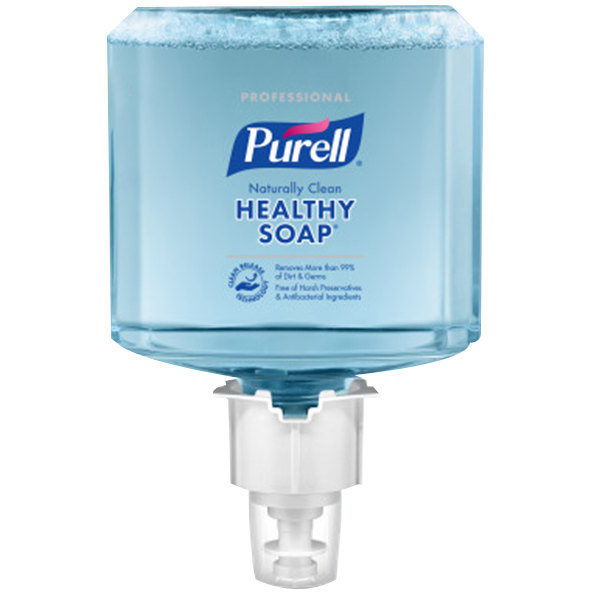 Purell® 6471-02 CRT Healthy Soap® Professional ES6 1200 mL Naturally Clean Foaming Hand Soap - 2/Case