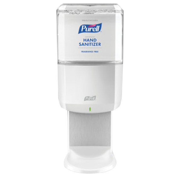 Purell® 6451-1W Advanced Healthcare ES6 1200 mL White Automatic Hand Sanitizer Dispenser with Gentle & Free Foaming Hand Sanitizer Main Image 1