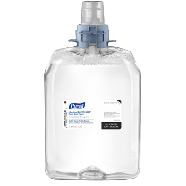 Purell® 5216-02 Healthy Soap® Education FMX-20™ 2000 mL Clean Scent Foaming Hand Soap - 2/Case