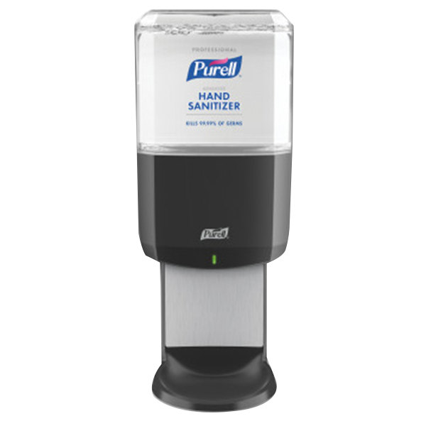 Purell® 6454-1G Advanced Professional ES6 1200 mL Black Automatic Hand Sanitizer Dispenser with Foaming Hand Sanitizer