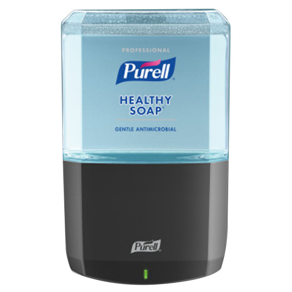Purell® 6479-1G Healthy Soap® Professional ES6 1200 mL Graphite Automatic Hand Soap Dispenser with Antimicrobial Foaming Hand Soap
