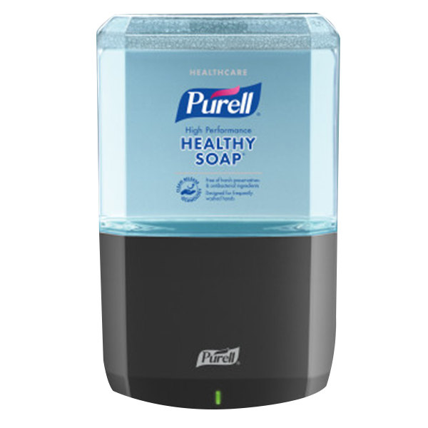 Purell® 6485-1G Healthy Soap® Healthcare ES6 1200 mL Graphite Automatic Hand Soap Dispenser with High Performance Foaming Hand Soap