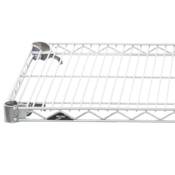 "Metro A3036NC Super Adjustable Chrome Wire Shelf - 30"" x 36"" Main Image 1"