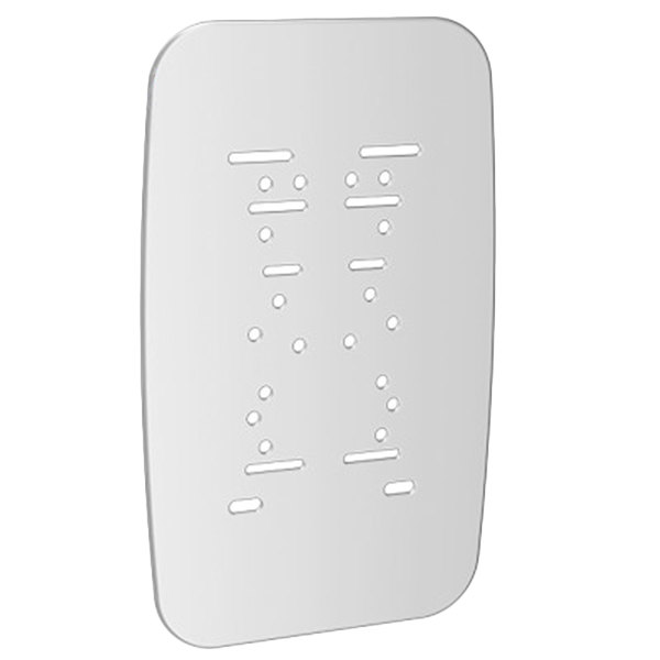 Purell 7740-WHT-18 True Fit White ES Dispenser Wall Plate - 18/Case Main Image 1