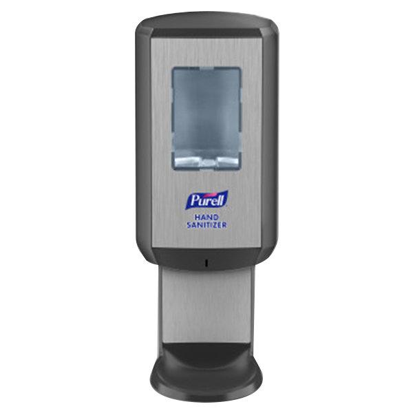 Purell® 6524-01 CS6 1200 mL Black Automatic Hand Sanitizer Dispenser Main Image 1