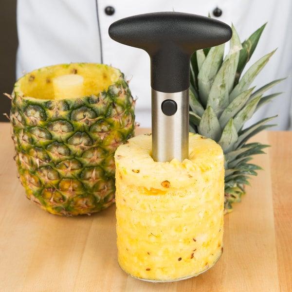 Choice Stainless Steel Pineapple Slicer / Corer Main Image 6