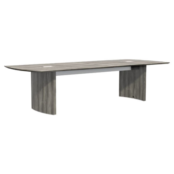 Mayline MNCTTLGS Medina X Gray Steel Laminate Conference - White laminate conference table