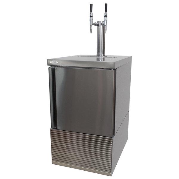 """Cornelius 621058723 Nitropro 20"""" Bag in Box Cold Brew Dispenser with Two Taps Main Image 1"""