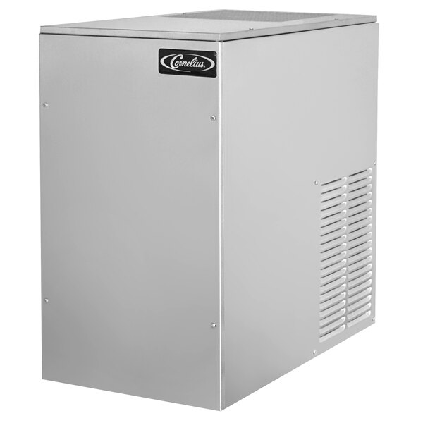 """Cornelius WCC-700CA 30"""" Carbon Finish Air Cooled Chunklet Ice Maker - 616 lb. Main Image 1"""