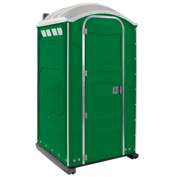PolyJohn PJN3-1122 Verdant Portable Restroom with Translucent Top - Assembled Main Image 1