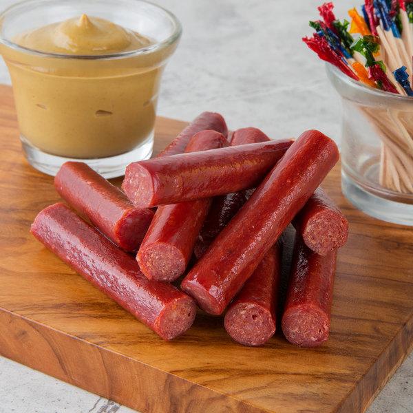 Seltzer's Lebanon Bologna 8 oz. Spicy Beef Snack Sticks - 20/Case