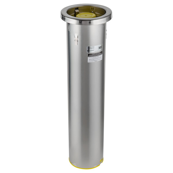 San Jamar C6500C Stainless Steel In-Counter 32 - 46 oz. Cup Dispenser