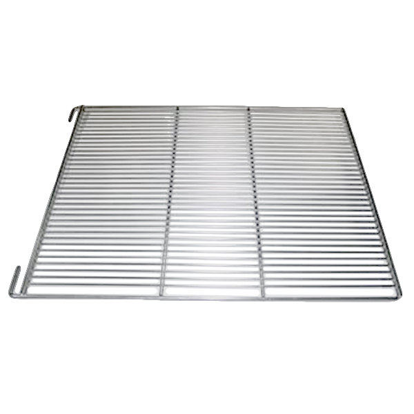 """True 891292 Stainless Steel Wire Shelf with Shelf Clips and 1"""" Standoff - 23 1/2"""" x 27 3/4"""""""