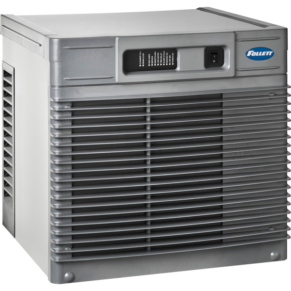"""Follett MCD425ABS Maestro Plus 19"""" Air Cooled Chewblet Ice Machine with Remote Ice Delivery - 425 lb. Main Image 1"""