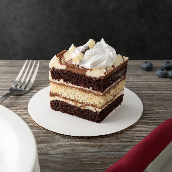 "6"" White Corrugated Cake / Pizza Circle - 25/Pack Main Image 3"