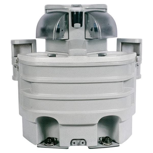 PolyJohn SK3-1000 Applause 60 Gallon Portable Hand Washing Sink with Vinyl Bag Liner
