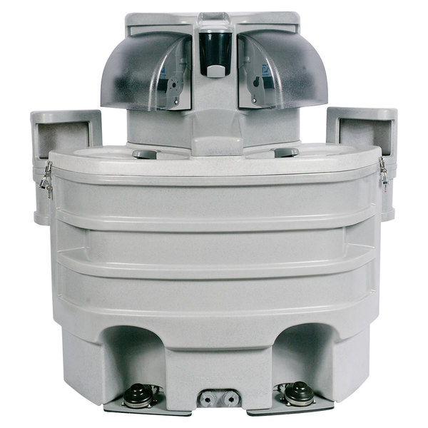 PolyJohn SK3-2000 Applause 33 Gallon Portable Hand Washing Sink with Hard Liner