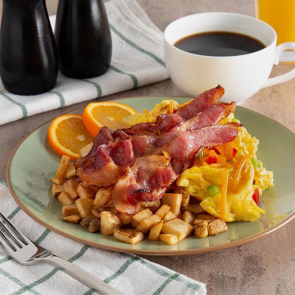 Kunzler 1 lb. Thick Cut Original Hardwood Smoked Sliced Bacon - 12/Case