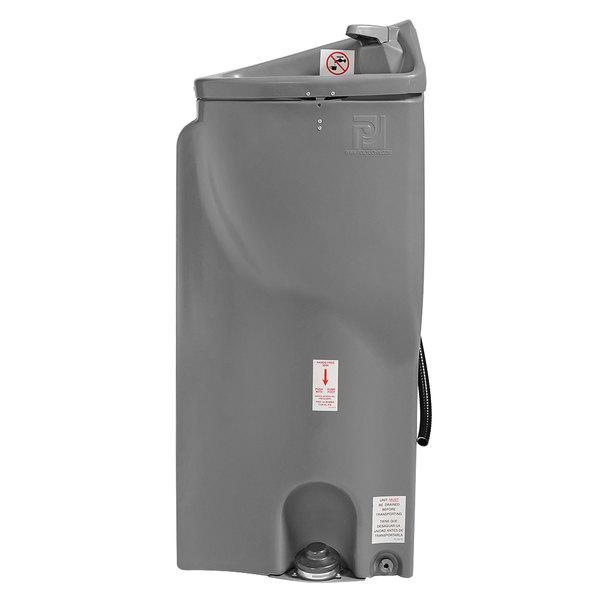 PolyJohn PSN1-1000 PJN Gray 15 Gallon Portable Hand Sink with Foot Pedal for PJN3-1000 Series Restrooms