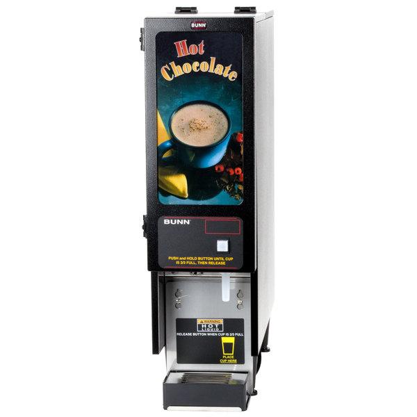 Bunn SET00.0203 FMD-1 BLK Fresh Mix Cappuccino / Espresso Machine Hot Chocolate Dispenser - 120V
