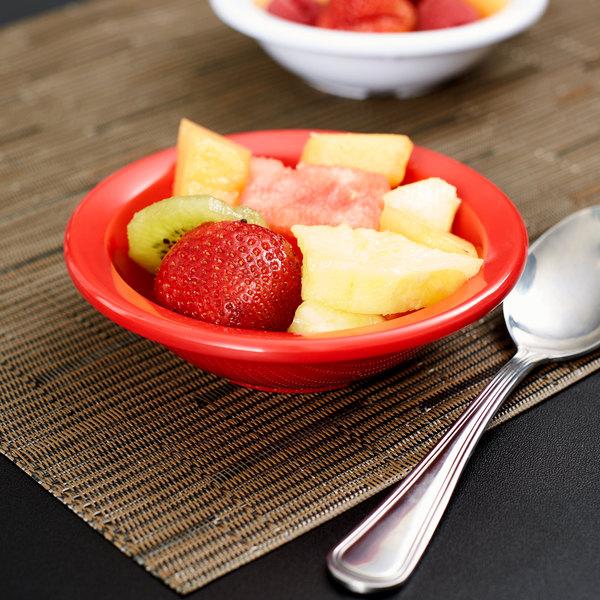 Red Rimmed Fruit Bowl 48 Case Image Preview