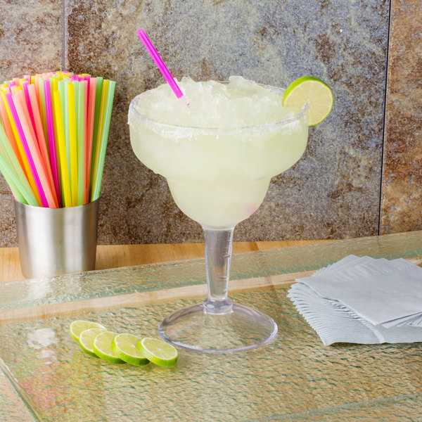 GET SW-1415-CL 36 oz. SAN Plastic Margarita Glass