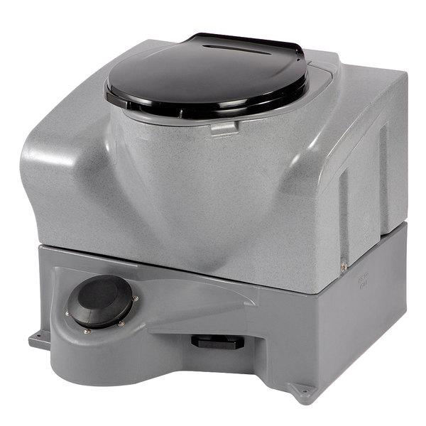 PolyJohn MF02-1000 Mini-Flush 15 Gallon Self-Contained Flushing Toilet - Assembled Main Image 1