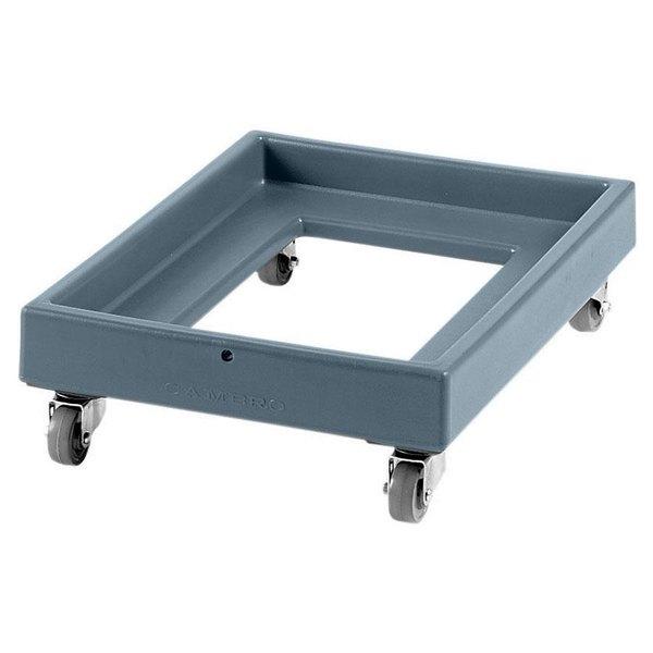 Cambro CD2028401 350 lb. Slate Blue Camdolly Milk Crate Dolly