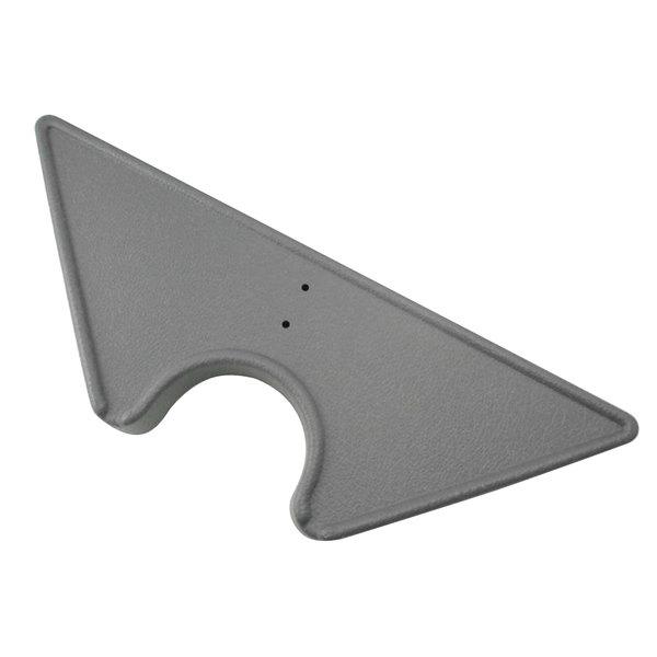 PolyJohn SU01-0001P PJN3 Pewter Grey Convenience Shelf for PJN3