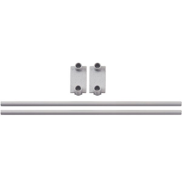 "Cambro CPR24E151 End Shelf Rail for 24"" Wide Cambro Camshelving® Premium Modular Shelving Units Main Image 1"