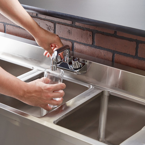 regency 3 bowl underbar sink with faucet and two drainboards   60   x 18 3 4   3 bowl underbar sink with faucet and two drainboards   60   x 18 3 4    rh   webstaurantstore com