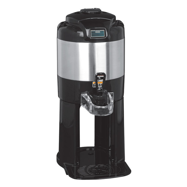 Bunn 42700.0000 TF 1 Gallon Stainless Steel Digital ThermoFresh Coffee Server with Attached Base Main Image 1