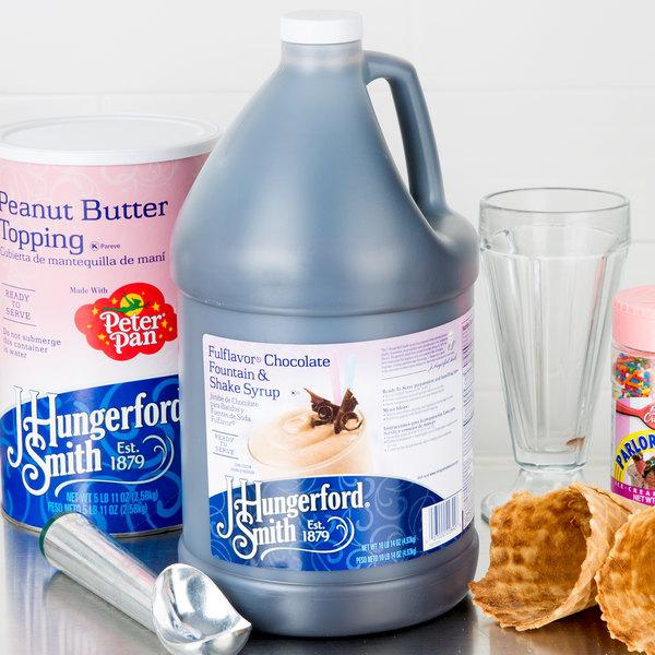 J. Hungerford Smith Fulflavor 1 Gallon Chocolate Fountain & Milkshake Syrup Main Image 2