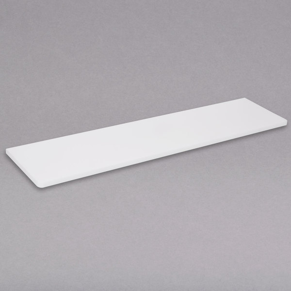 """APW Wyott 32010635 Equivalent 30 5/8"""" x 7 1/2"""" Poly Cutting Board for 2 Well Sealed Element Steam Table"""