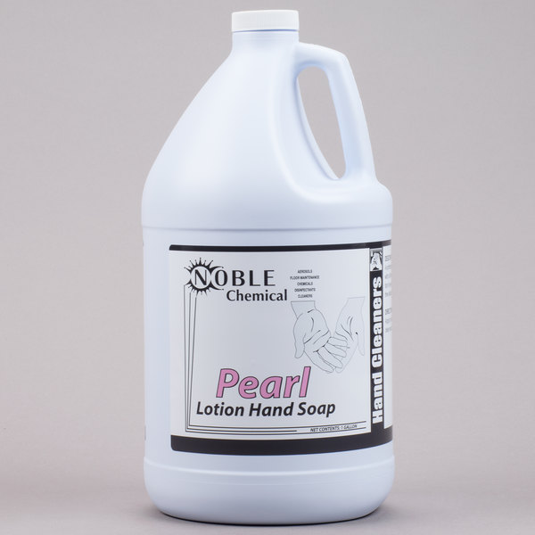 Noble Chemical 1 Gallon / 128 oz. Pearl Lotion Hand Soap - 4/Case
