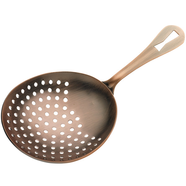 1x Bar Cocktail JULEP STRAINER Stainless Steel EACH *FREE USA SHIP*