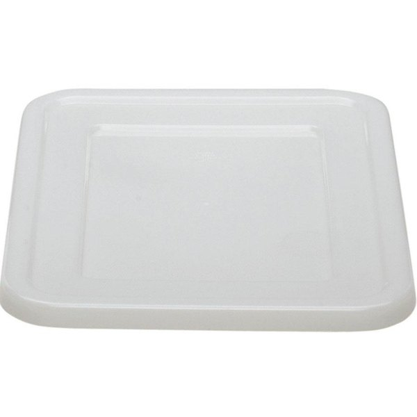 "Cambro 2115CBCP148 Cambox 20"" x 15"" White Polyethylene Plastic Cover"