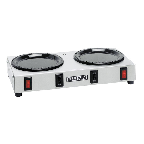Bunn 06310.0004 WX2 Double Burner Coffee Warmer