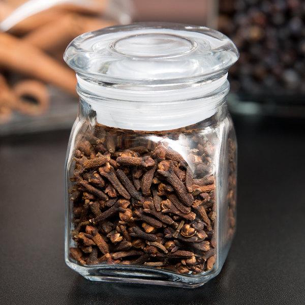 Anchor Hocking 85858 Emma 4 oz. Spice Jar with Lid - 6/Case