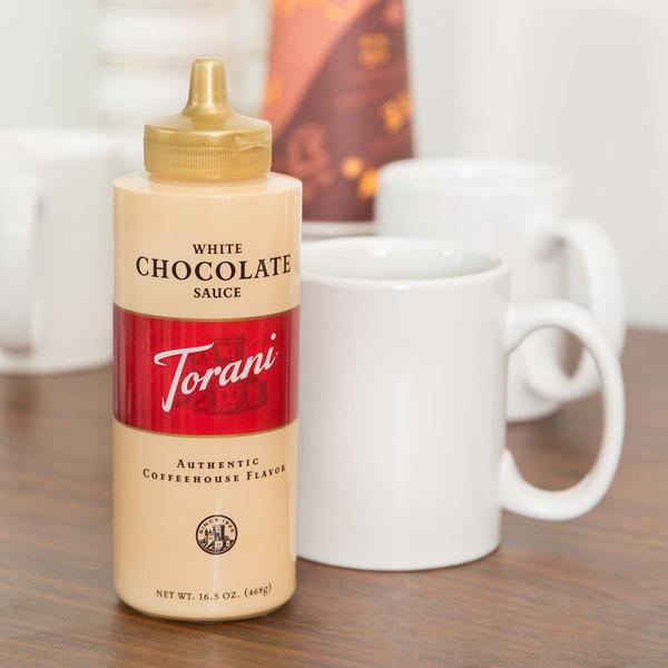 Torani 16.5 oz. White Chocolate Flavoring Sauce