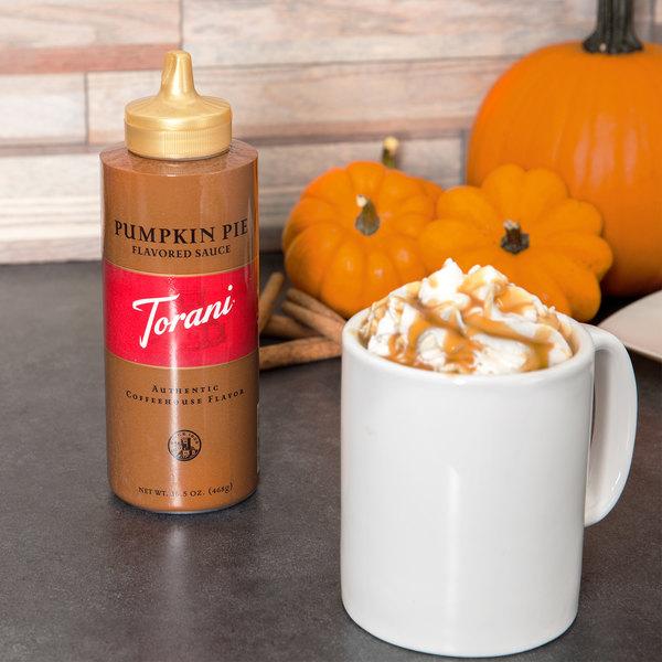 Torani 16.5 oz. Pumpkin Pie Flavoring Sauce