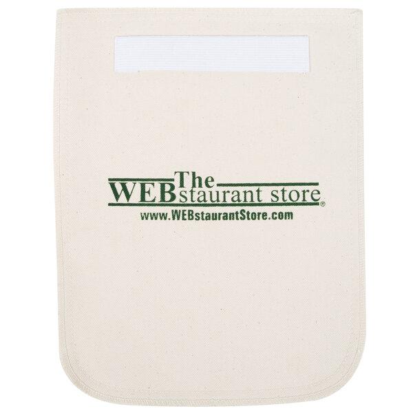 WebstaurantStore 8 1/2 inch x 11 inch Beige Terry Cloth Pot Holder / Baker's Pad