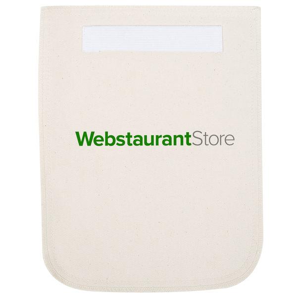 WebstaurantStore 8 1/2 inch x 11 inch Beige Terry Cloth Pan Grabber / Pot Holder
