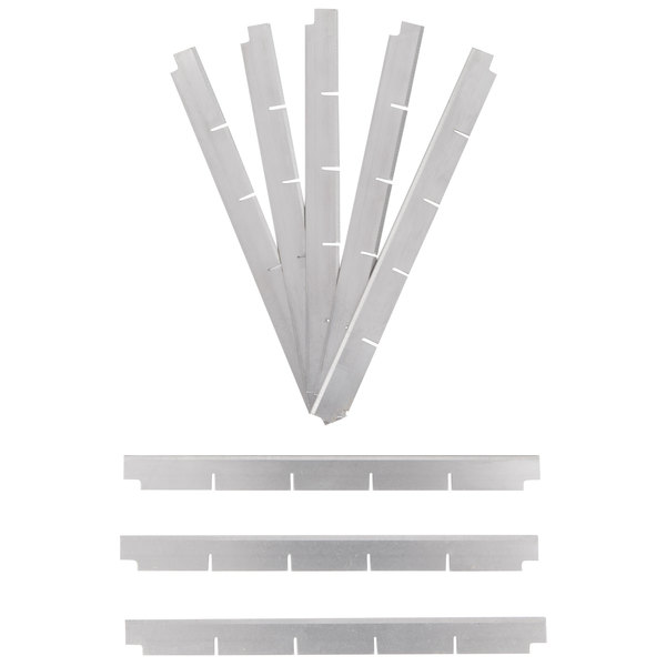 "Nemco 536-4 1"" Square Cut Replacement Blade Set"