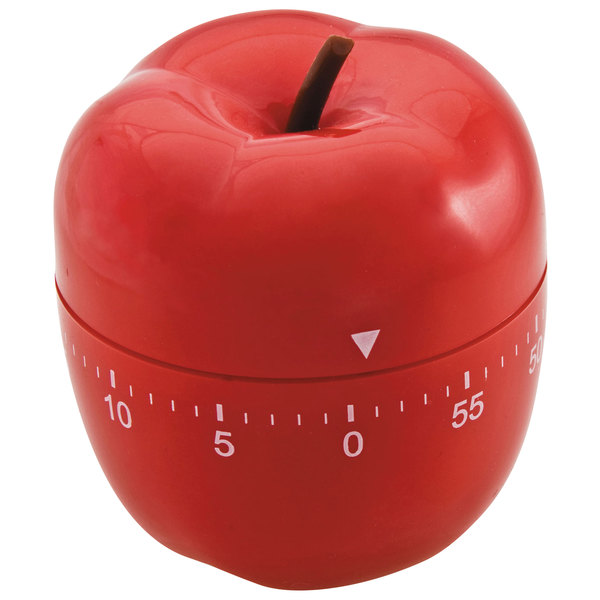 BaumGartens 77042 Red Apple 60 Minute Classroom Activity Timer Main Image 1