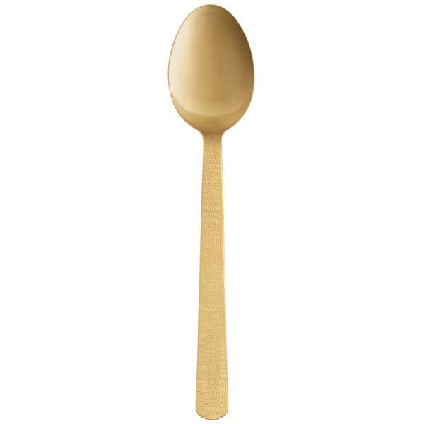 Hammered American Metalcraft GVHSP Solid Spoon 13 1//4-Inches Vintage Gold