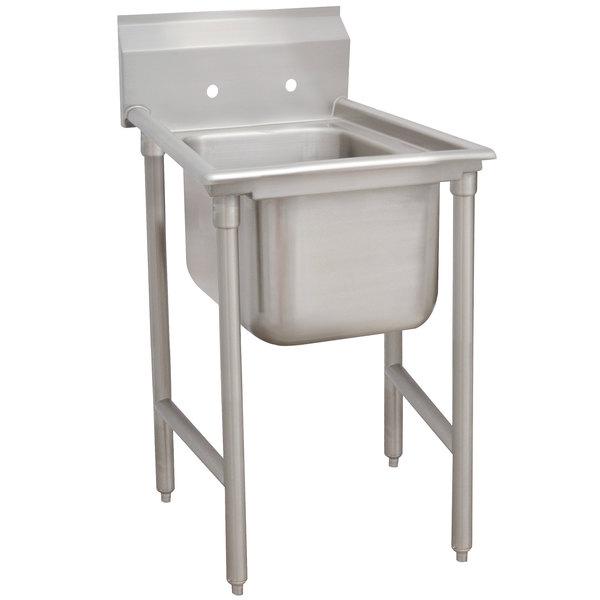 "Advance Tabco 9-21-20 Super Saver One Compartment Pot Sink - 29"""