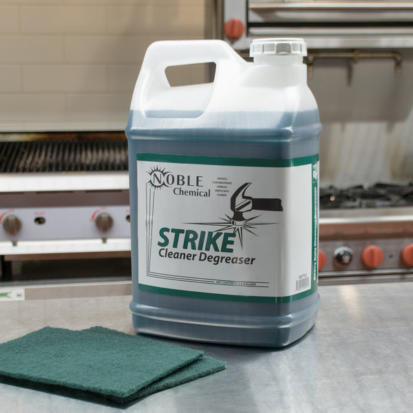 Noble Chemical 2.5 Gallon / 320 oz. Strike All Purpose Cleaner Degreaser - 2/Case Main Image 3