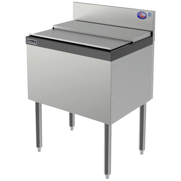 """Perlick TS24IC10-STK 24"""" Ice Chest with Cold Plate"""