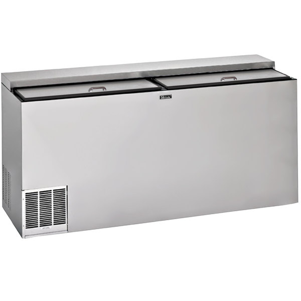 """Perlick BC48RT-3-SS 48"""" Stainless Steel Horizontal Bottle Cooler Main Image 1"""
